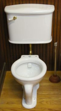 Low Tank Toilets Toilet Water Closet Antique Brick Wall