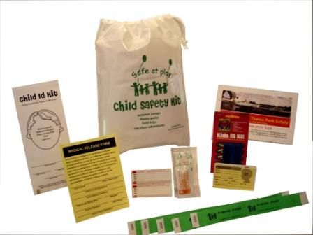 Child safety kit for all your kidu0027s summer activities or your - medical release forms