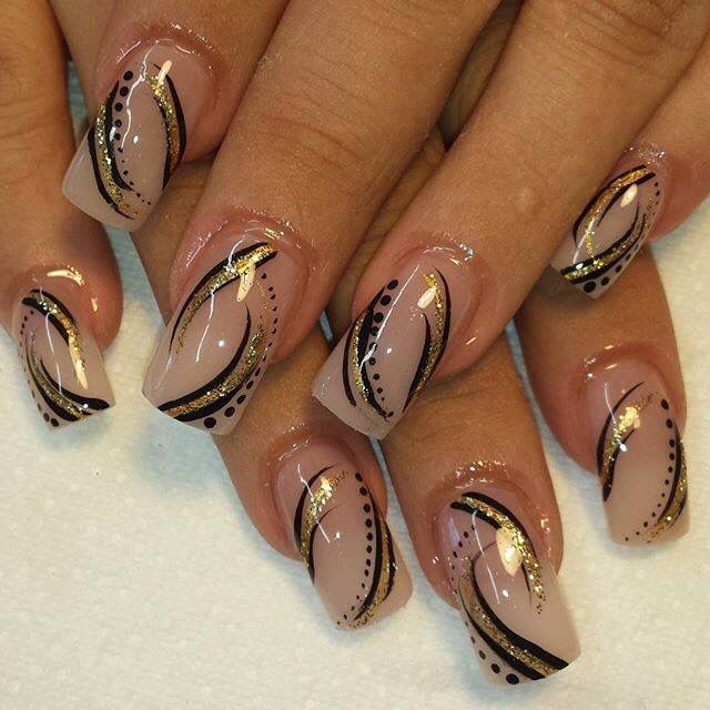 This Style Reminds Me Of The Early 2000s So Much Nail Art Designs 2016 Nail Color Trends Nail Art Designs Summer