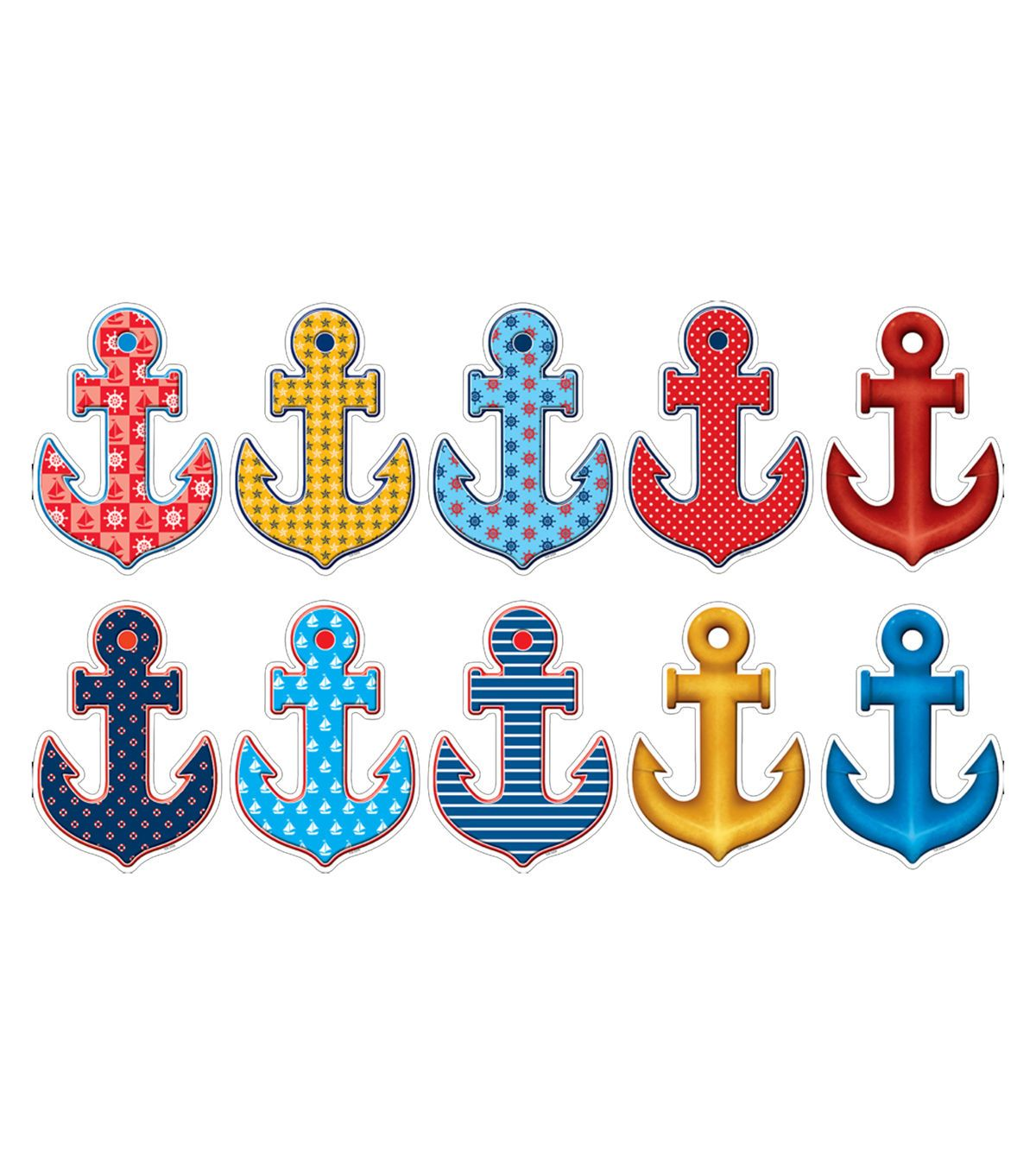 Anchors Accents 30 Pk Set Of 6 Packs Teacher Created Resources Classroom Walls Classroom