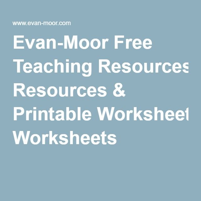 Evan-Moor Free Teaching Resources & Printable Worksheets