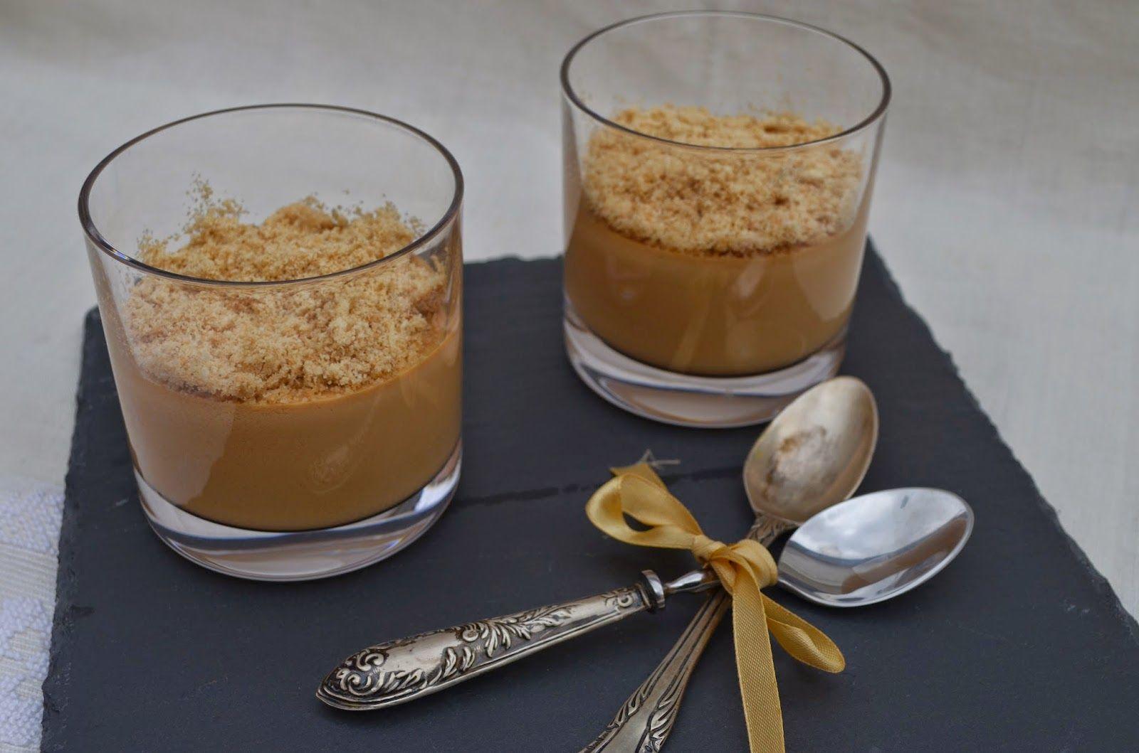 Noz Moscada e Gengibre: Creme de caramelo