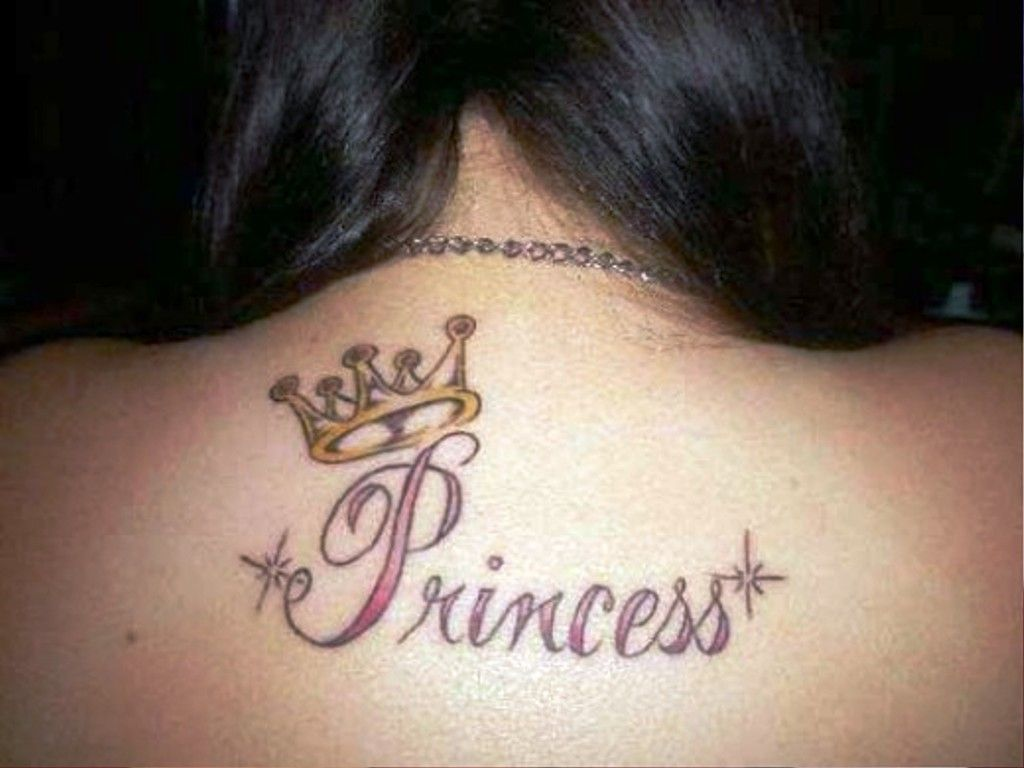 Nice name tattoo designs - Princess Crown Tattoo Best Crown Tattoos For Women