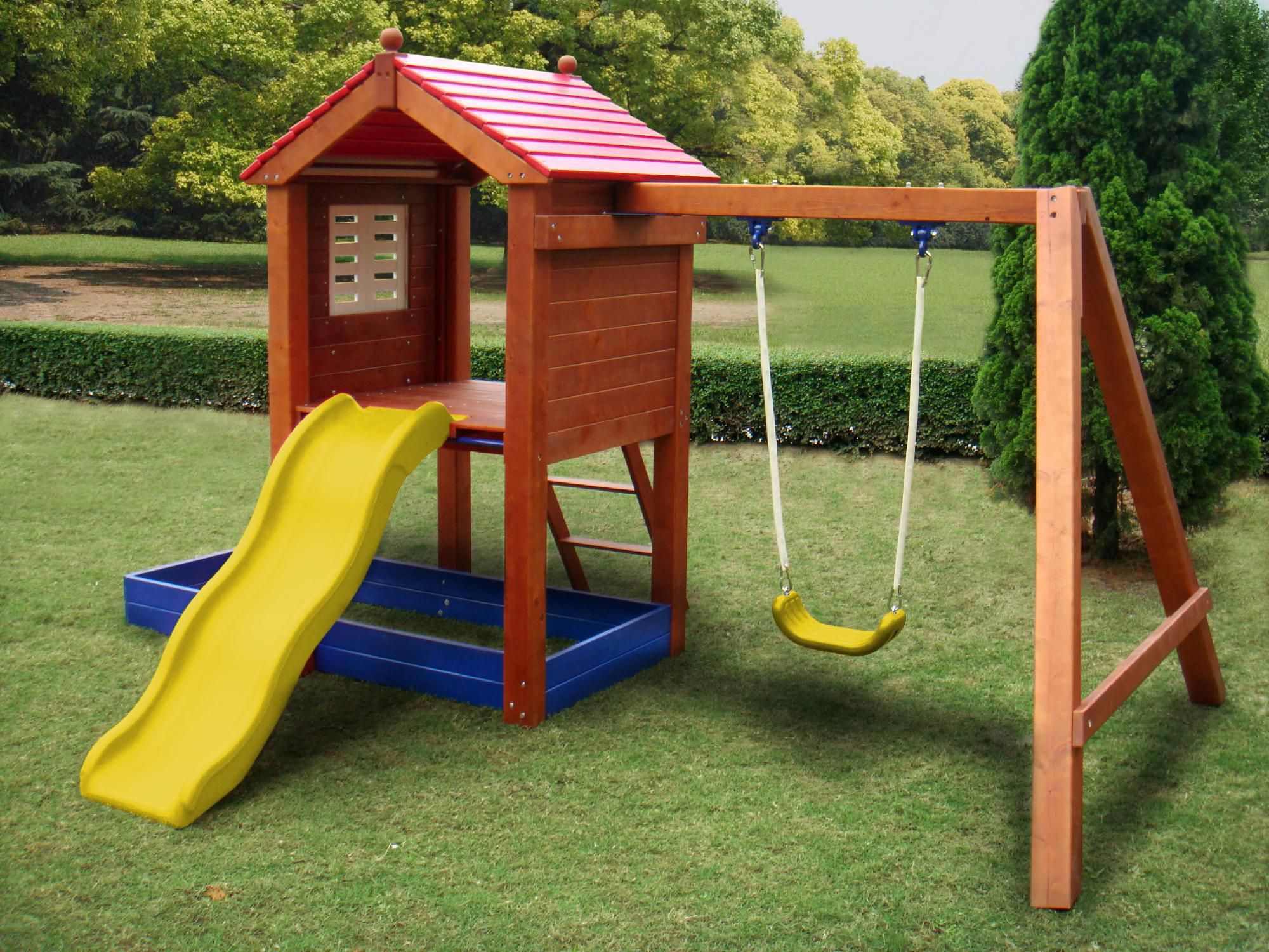 The Sand N Swing Combines The Fun Of A Swing Set With The Excitement