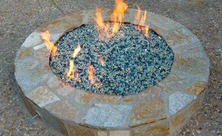 Glass Crystals Perk up Fireplaces and Fire Pits - Glass Crystals Perk Up Fireplaces And Fire Pits Fire And Water For