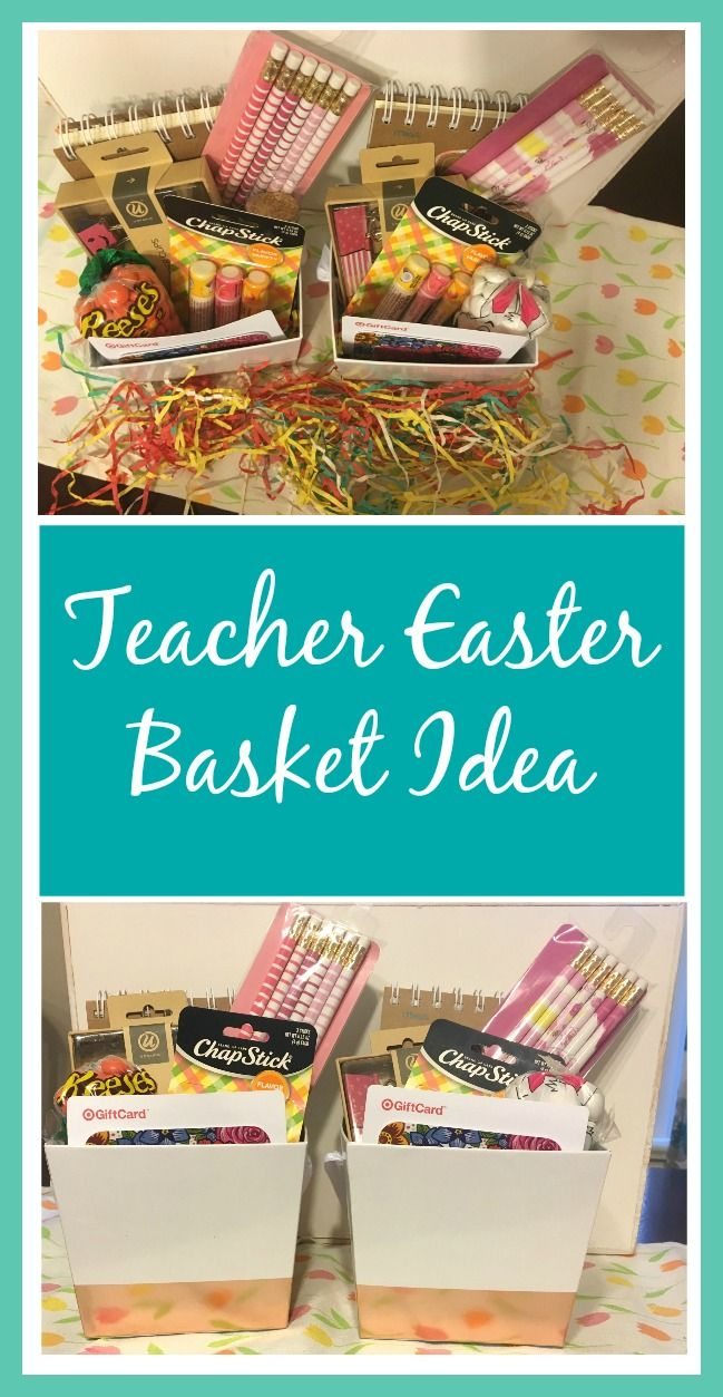 Teacher easter basket idea basket ideas easter baskets and children s teacher easter basket idea frugal finds during naptime negle Image collections