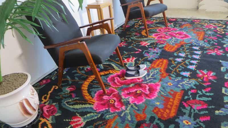 Medallion Rug Aubusson Rugs Persian Pink Vintage Traditional Caucasian Turkish Carpets Antique Handmade