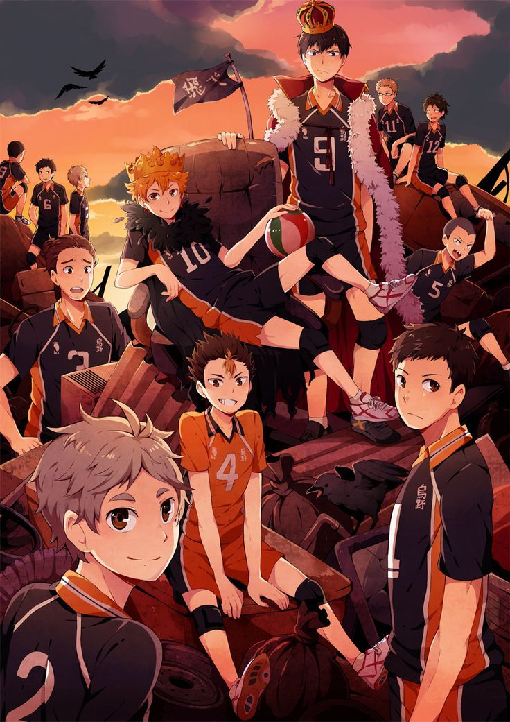 Karasuno wallpaper iPhone | Haikyuu anime, Haikyuu ...