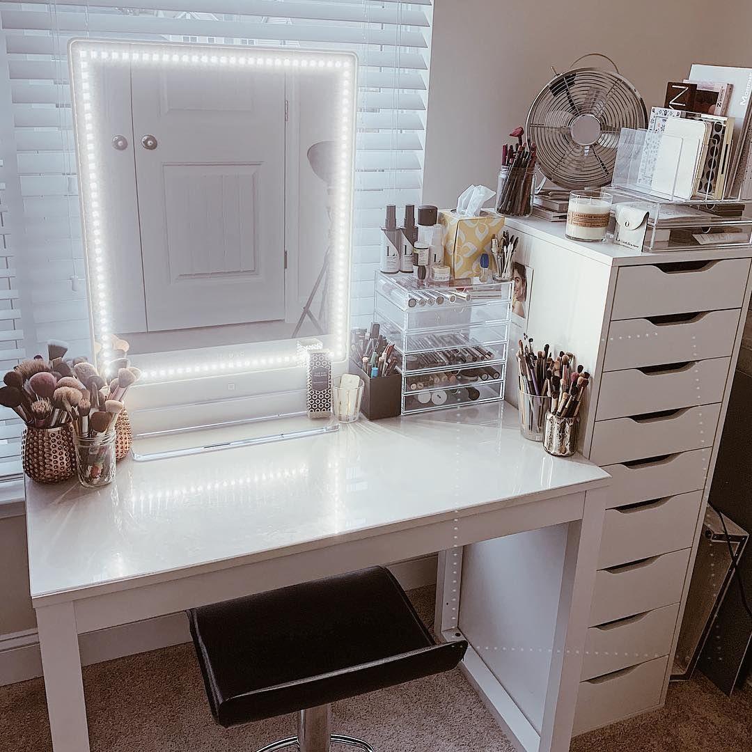 Riki tall Stylish bedroom, Vanity room, Bedroom decor