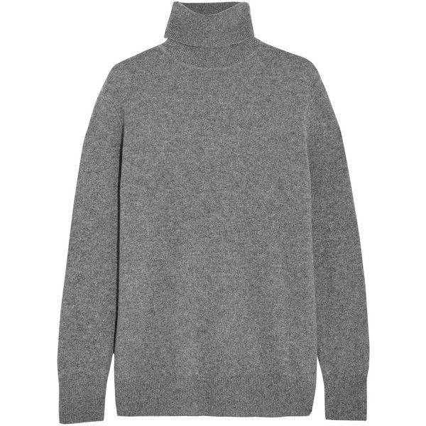 Equipment Oscar cashmere turtleneck sweater, Gray, Women's, Size ...