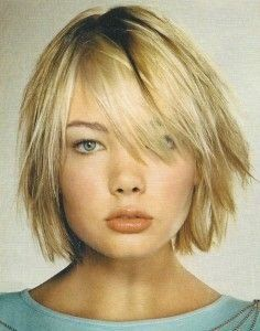Bob Stufig Frisur Fransig Haare Pinterest Bobs Hair Cuts And