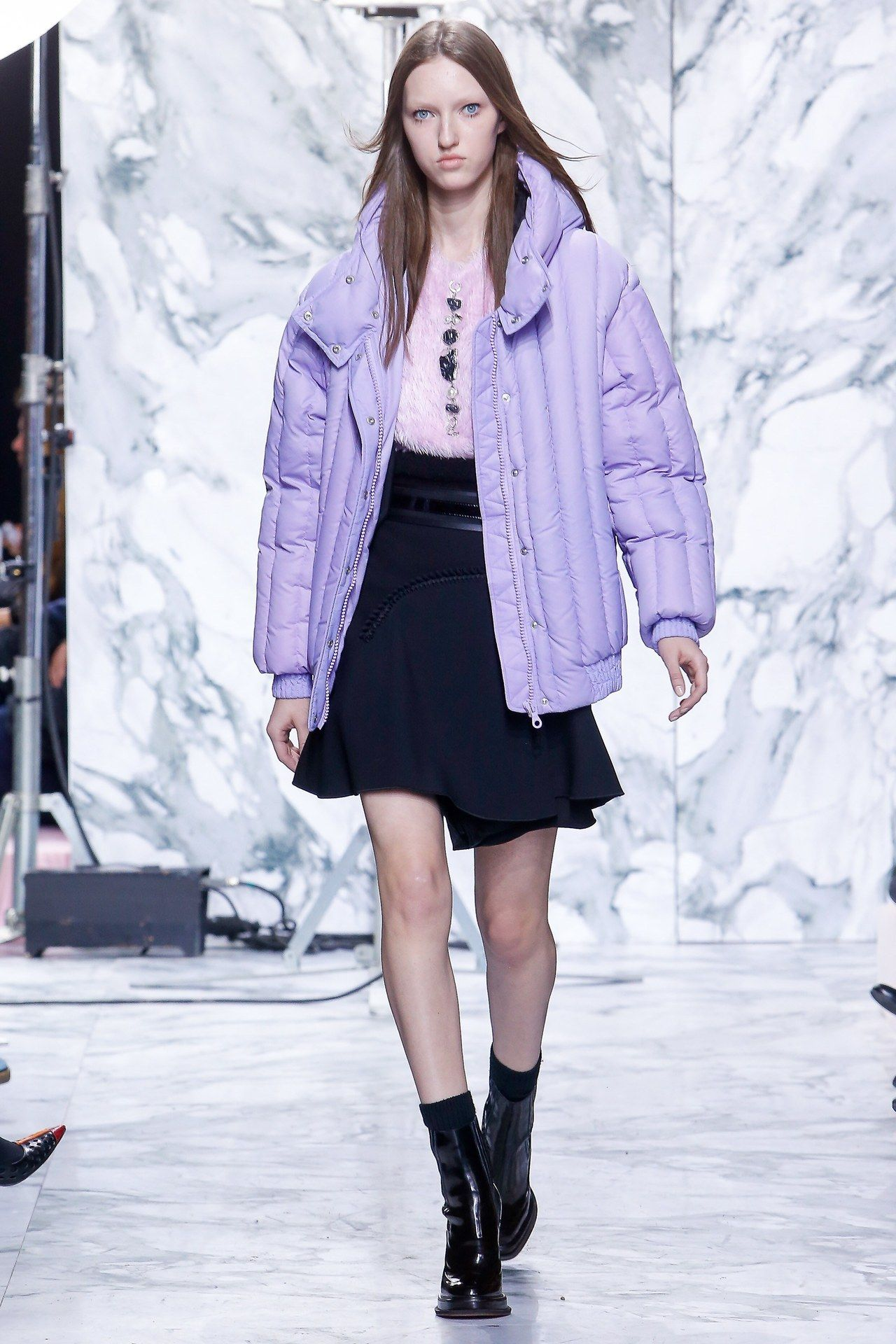 Carven RTW Spring '16 - #2016 #carven #catwalk #couture #fashion #high #purple #rtw #runway #style