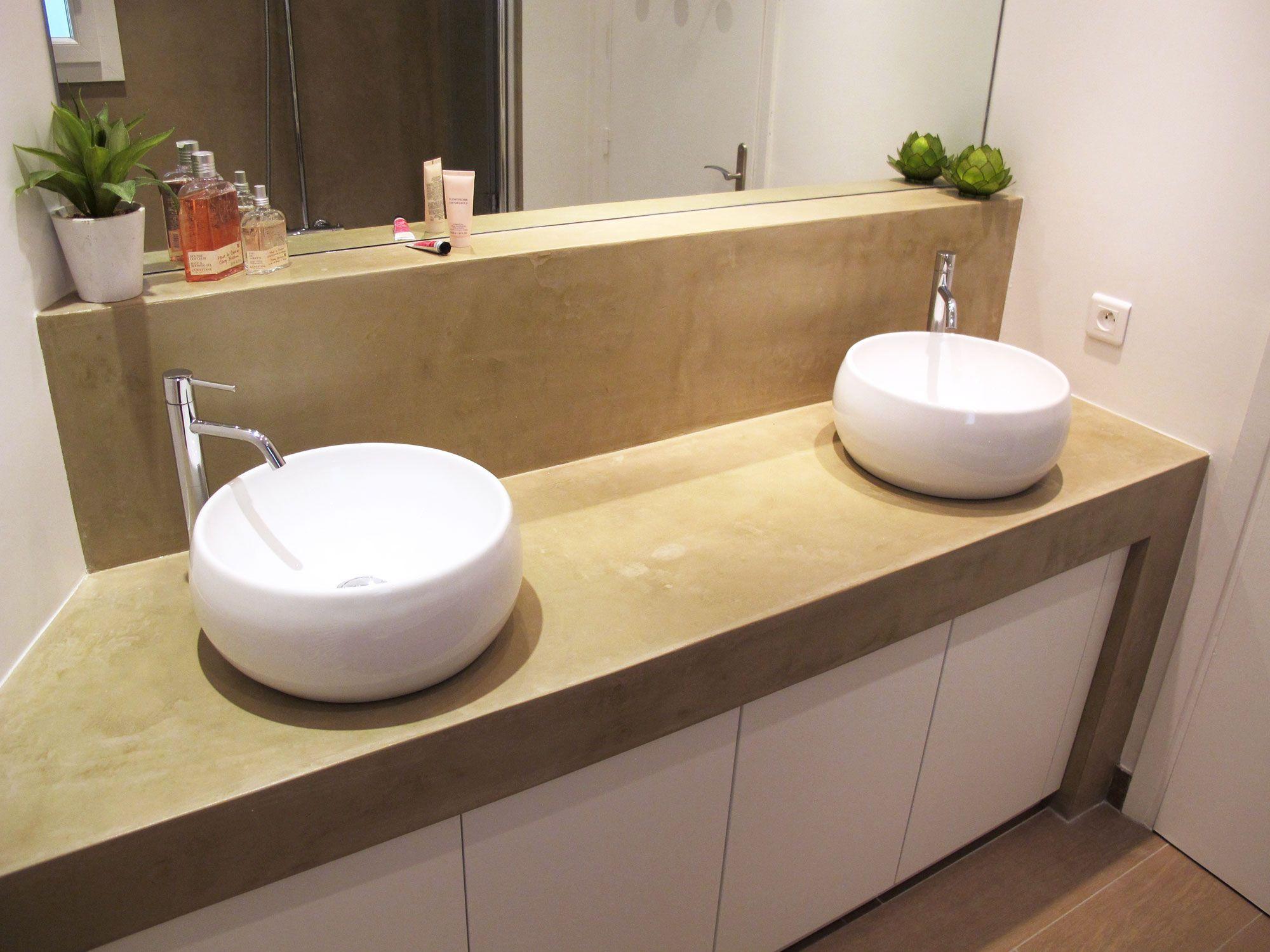 vasque à poser sur meuble salle de bain