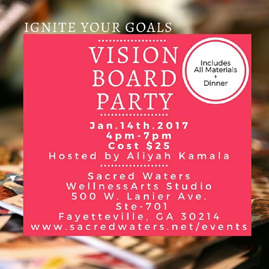 Vision Board Party 2017 Vision Board Party Vision Board Workshop Vision Board Diy
