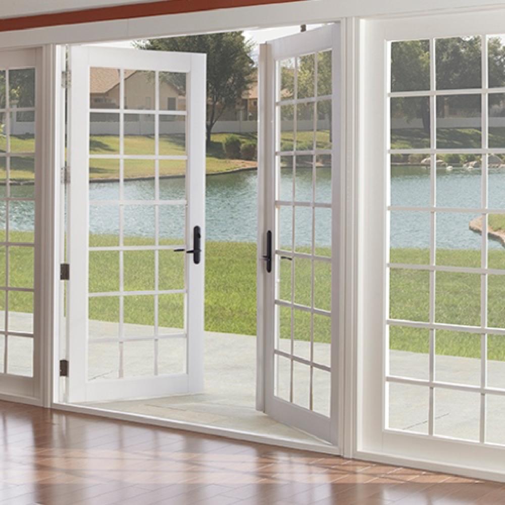 French And Garden Doors — A1 Windows Doors In 2020 400 x 300