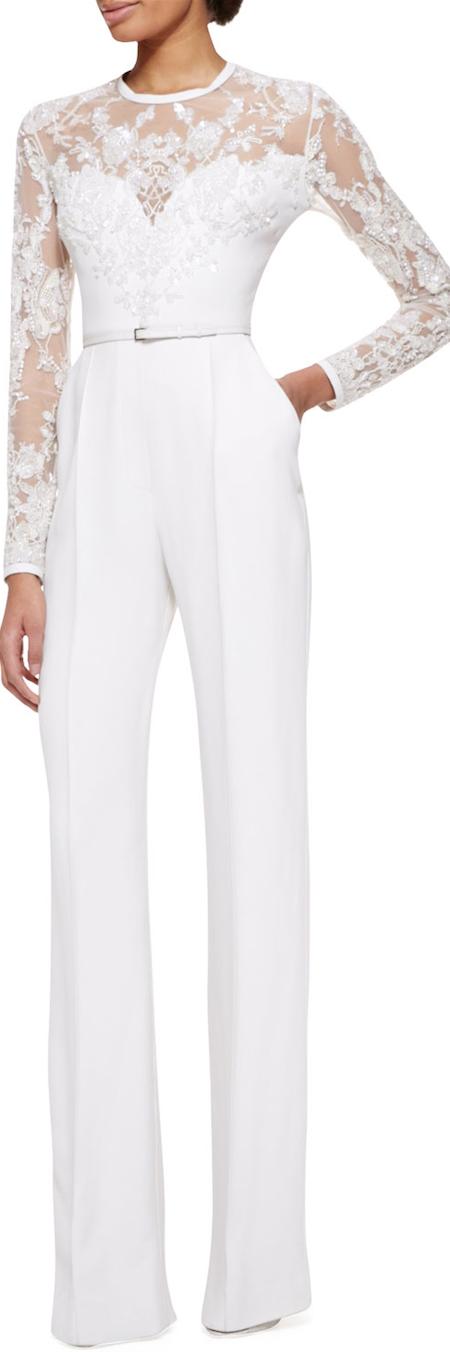 6b012619575 LOOKandLOVEwithLOLO  The Designer Jumpsuit Trend. LOOKandLOVEwithLOLO   October 2014 White ...