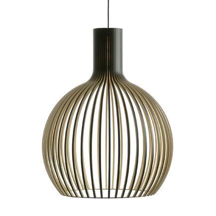 Hanglamp Octo zwart gelamineerd  secto design