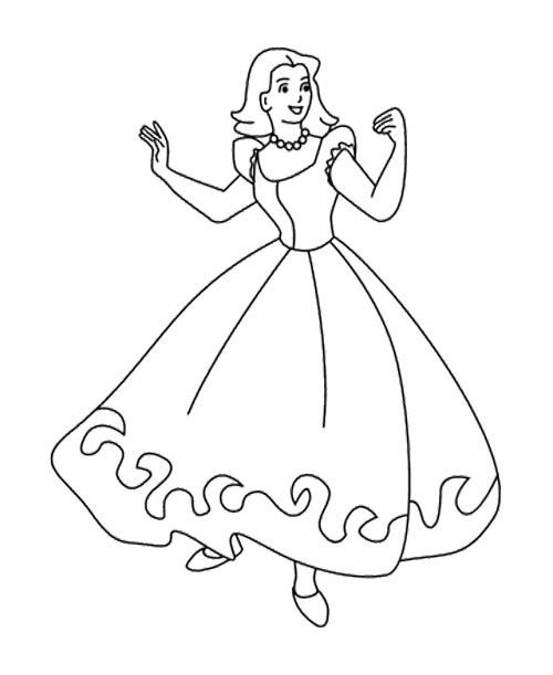 Barbie Doll Having Fun Coloring Pages | Kids Coloring Pages ...