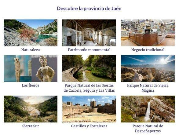 Descubre la provincia de Jaén,  Andalucía, España