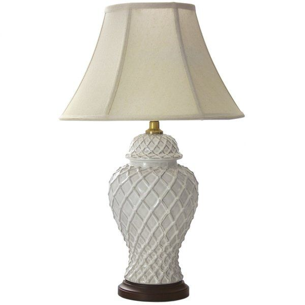 This Porcelain Table Lamp has been fashioned by hand for a