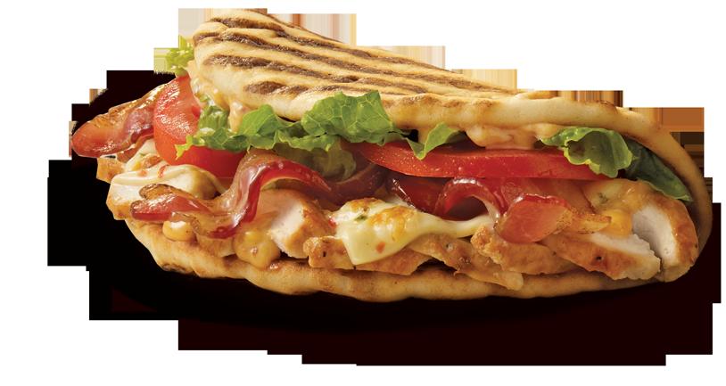Chipotle Chicken Club Flatbread