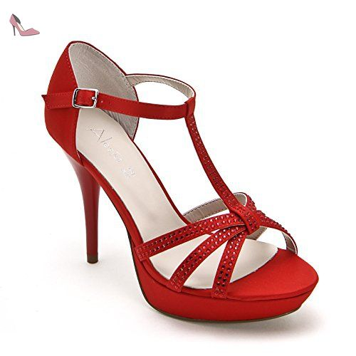 Chaussures Alesya rouges femme lvcH0
