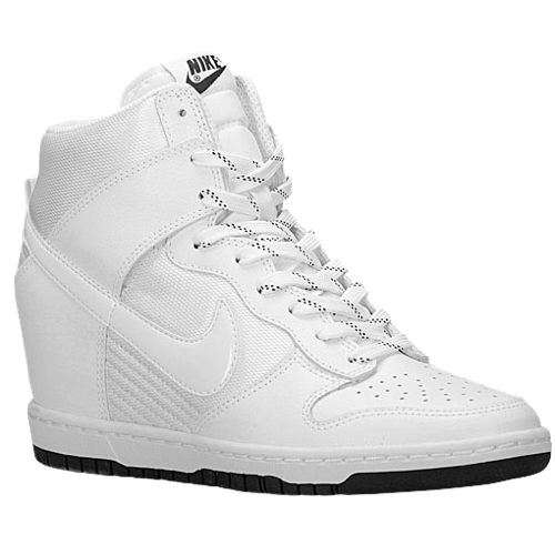 Nike Dunk Sky Hi - Women's - Basketball - Shoes - White/Black/White/White