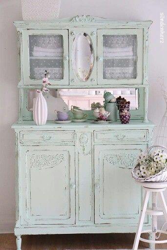 shabby hutch shabby pastels pinterest shabby franz sischer landhausstil und zuk nftiges. Black Bedroom Furniture Sets. Home Design Ideas