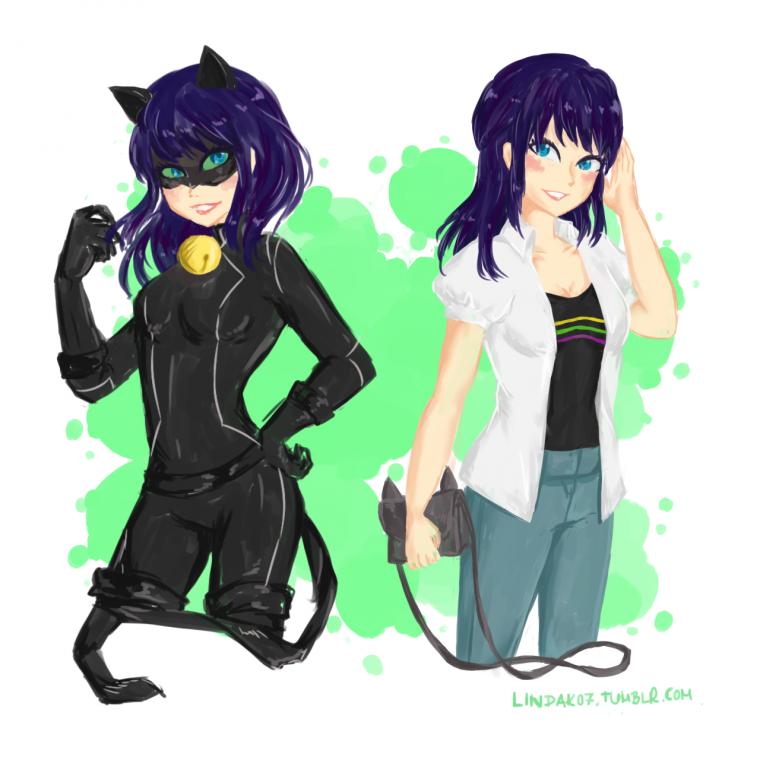 Noir chatte Grind