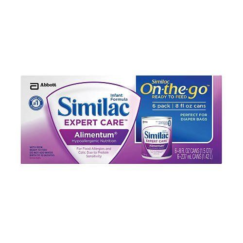 Similac Expert Care Alimentum Formula Ready To Feed Similac Baby Formula Baby Dolls For Kids