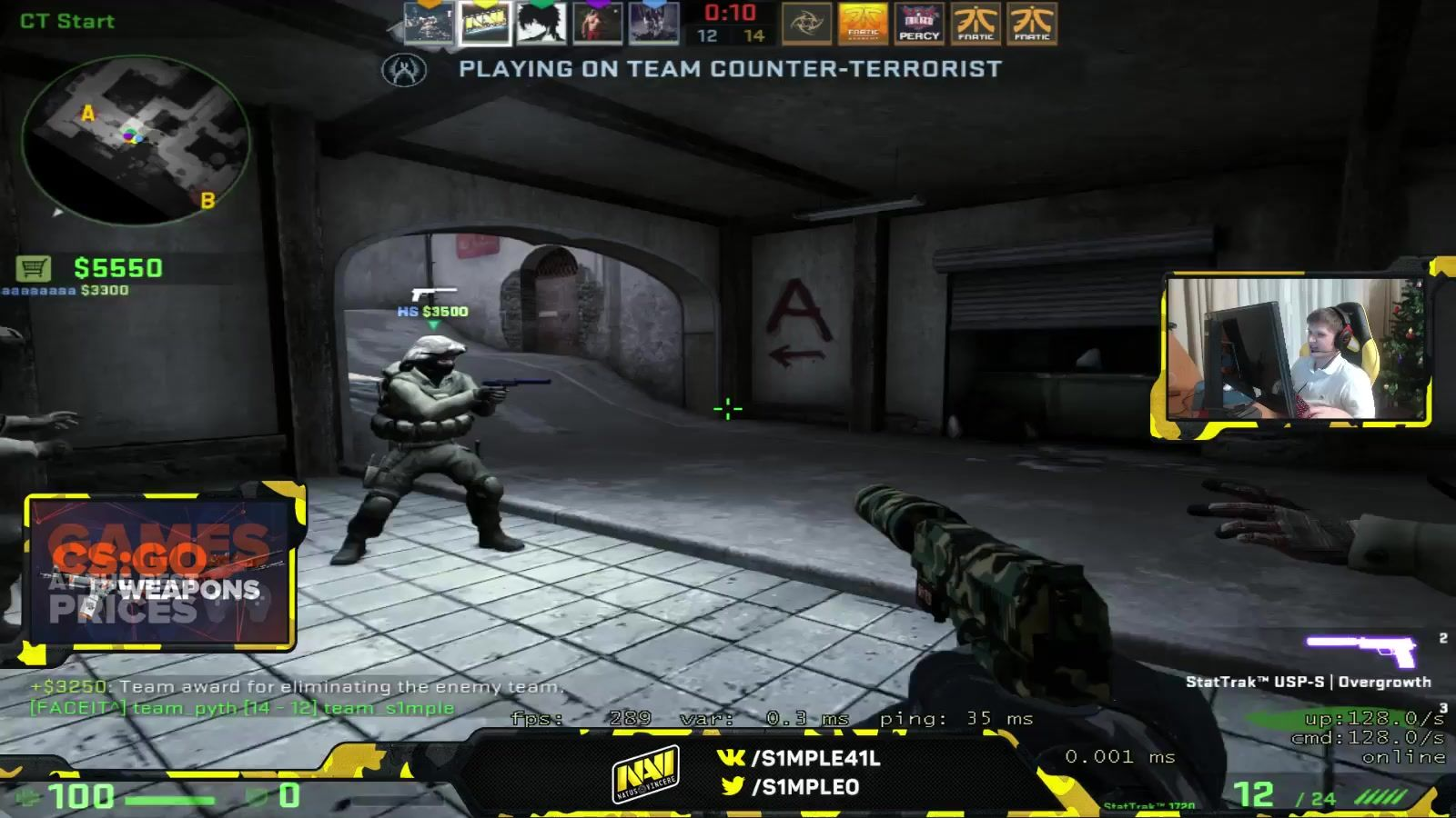 s1mple and JW share a laugh about their old teams #games