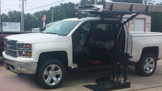 Wheelchair Accessible 2015 Chevrolet Silverado 1500 Ltz For Sale