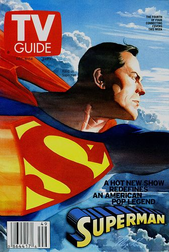 TV Guide | Superman by Alex Ross