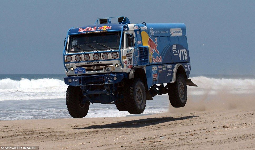 Plain terrain and automobiles: Amazing pictures of Dakar Rally as ...