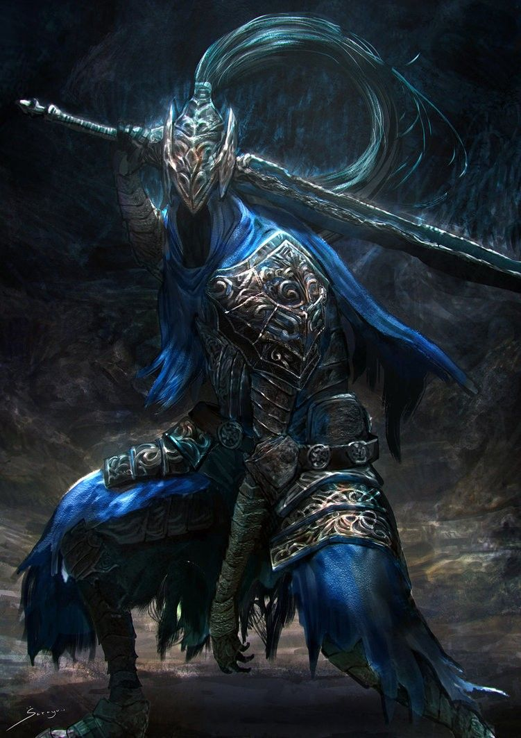 Https Ron Faure Deviantart Com Art Artorias The Abysswalker