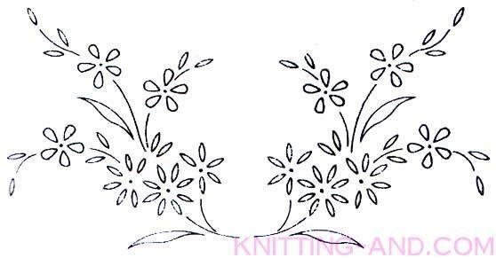 Free Embroidery Pattern Small Lazy Daisy Stitch Patterns Craft