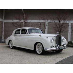 Rolls Royce Silver Cloud Ii 1960 White I Saw One Of These It Was