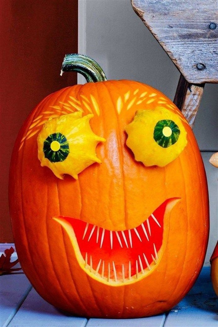 Beautiful Pumpkin Carving Ideas You Can Do By Yourself18