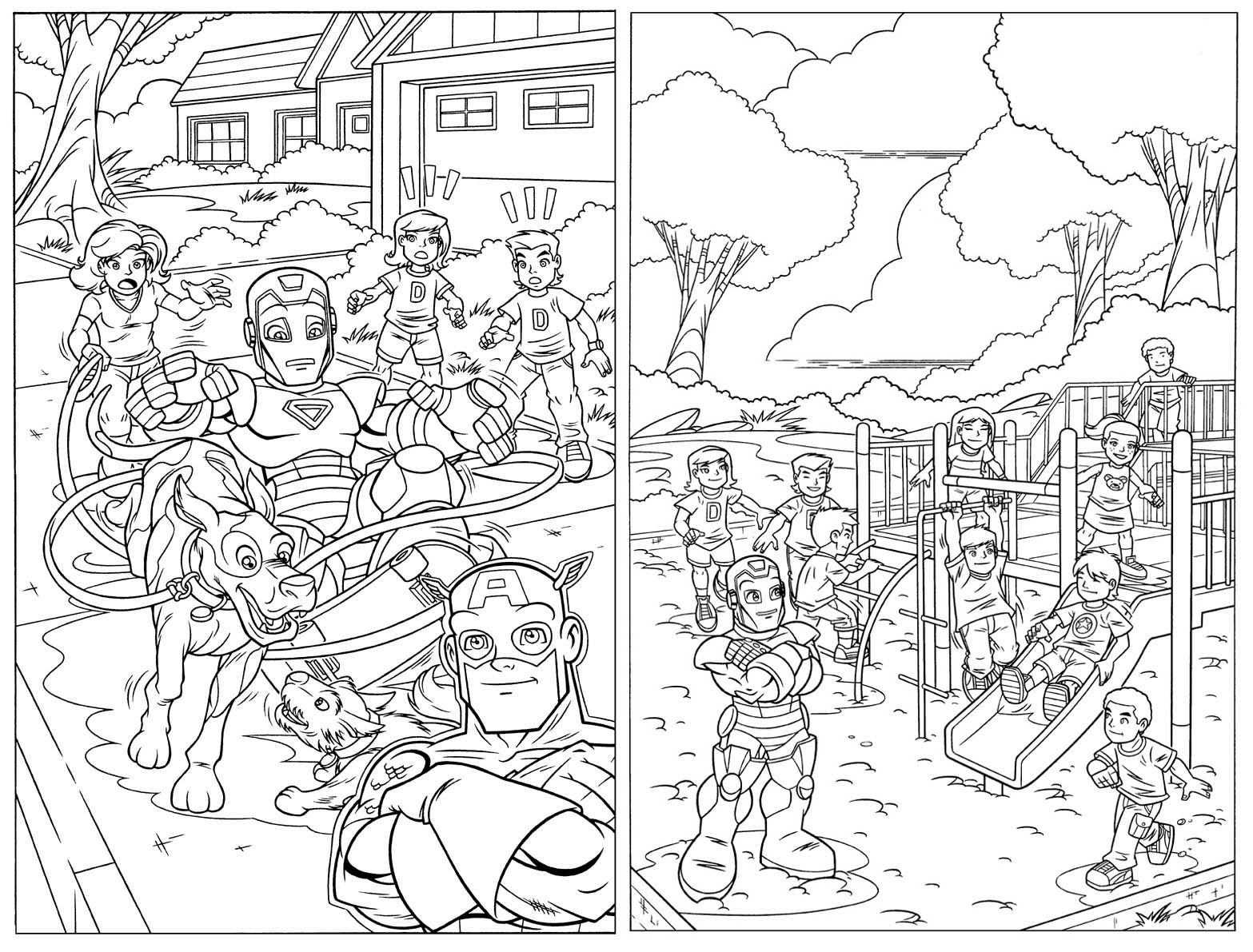 Super Hero Squad Marvel Coloring Pages Detailed Coloring Pages Online Coloring Pages Marvel Coloring