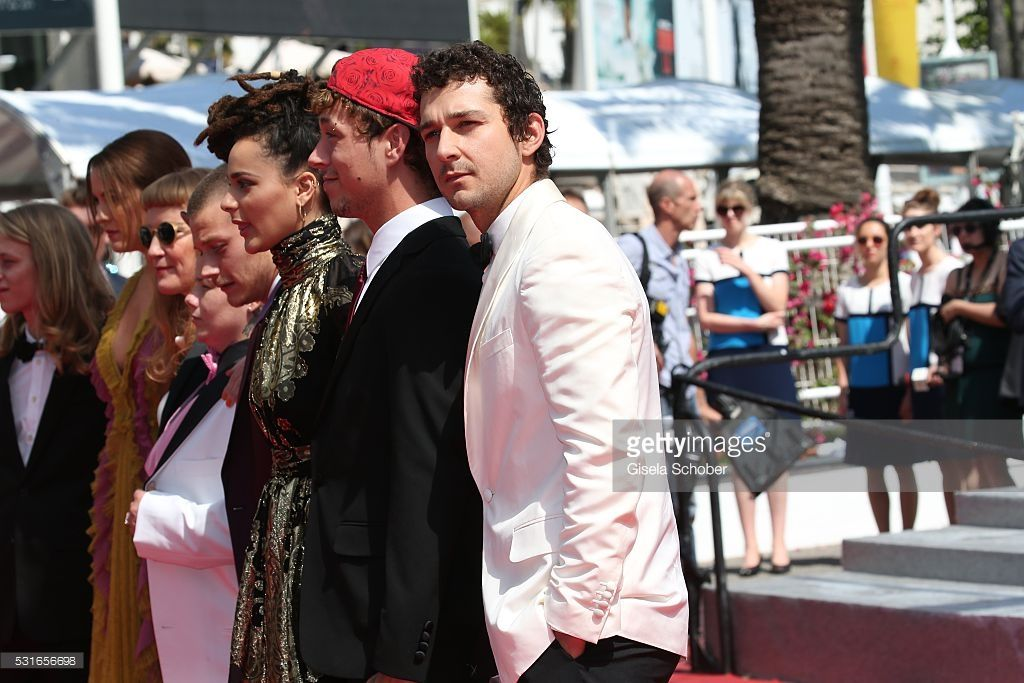 """Shia Labeouf and cast attend the """"American Honey"""" premiere"""