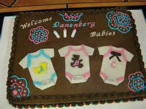 Triplet Baby Shower Cakes Bing Images Triplet Baby Shower