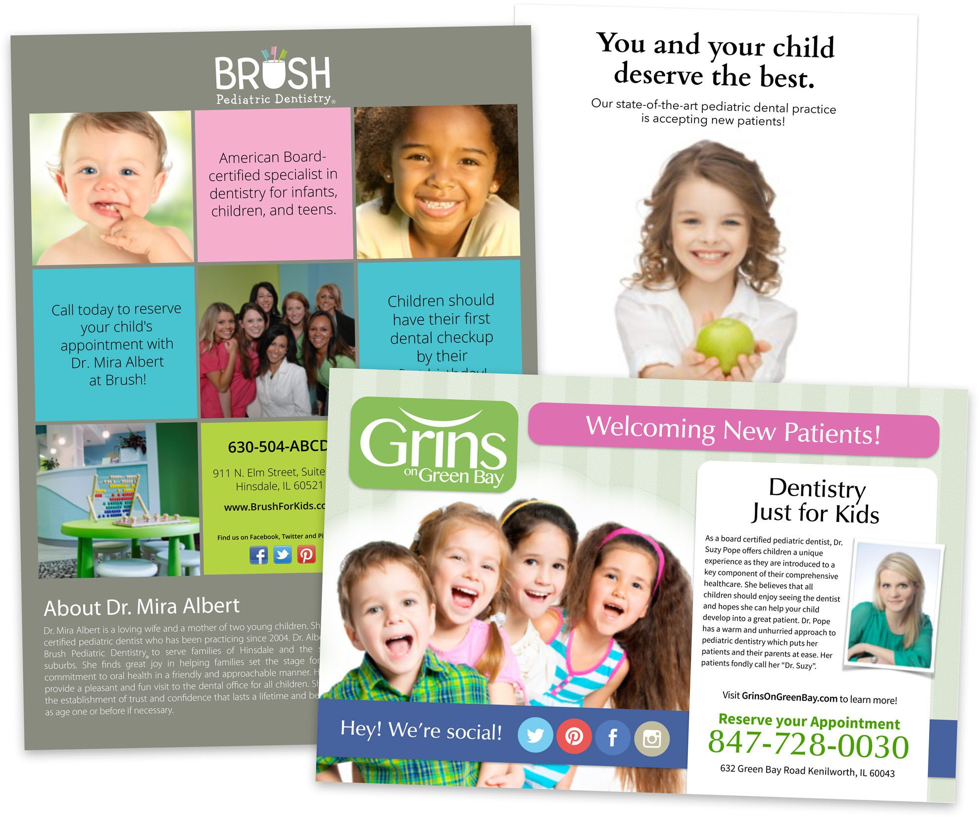 Our Pediatric Dental Marketing Packages Will Make Parents Feel More Comfortable Bringing Their Children To Your