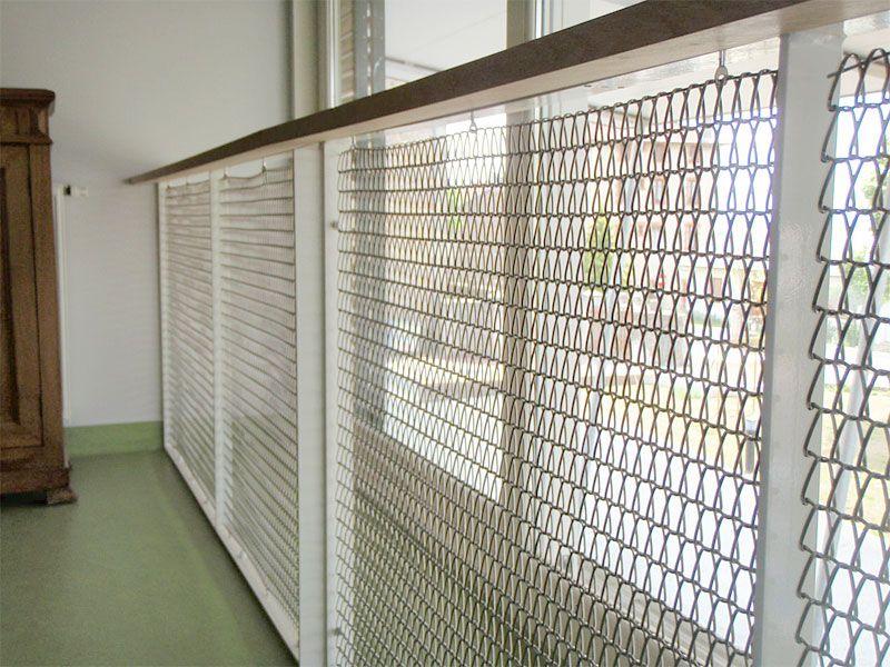 cliquer pour fermer la fen tre garde corps maille grille id es pour construction pinterest. Black Bedroom Furniture Sets. Home Design Ideas