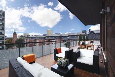 Tico de cristal casa negra dise o de terraza y tiendas - Diseno terrazas aticos ...