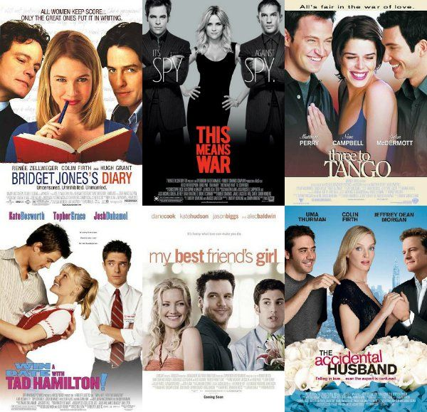 turns out there are only 5 types of romantic comedy movie