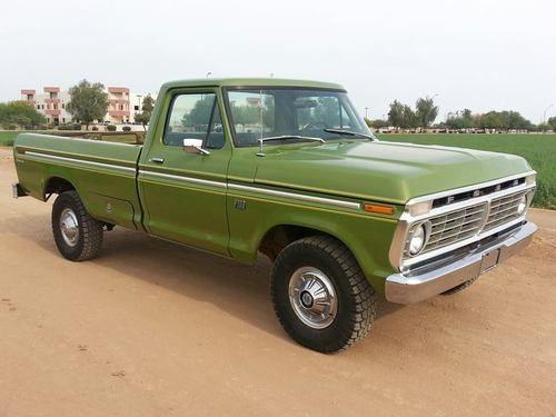 1974 Ford F100 4x4 Classic Ford Trucks Ford Trucks Trucks