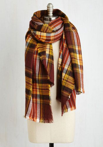 de8cd6714d8b Fall Night Long Scarf in Burgundy - Red