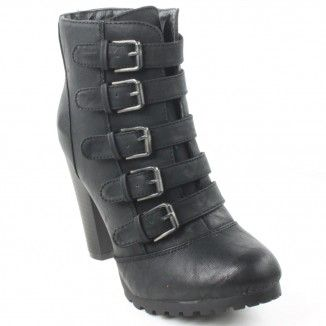 Bottines Closer NOIR , C22291037 , Femme, Boots / Bottines , Chaussea
