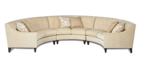 Exceptional Curved Sofa Sectional