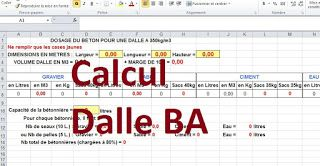 calcul dalle b ton arm excel cours de genie civil en 2018 pinterest construction et autocad. Black Bedroom Furniture Sets. Home Design Ideas